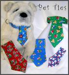 Pets are handsome in ties!